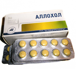 Choleretic drug Allohol