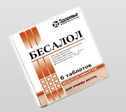 Besalol tablets 10 mg