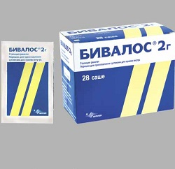Dosage form Bivalos - granules for suspension
