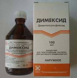 Dimexide phlebitis zur behandlung von - Krampfadern kastanien
