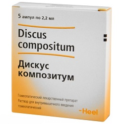 Solution for i / m injection Discus compositum