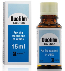 Duofilm solution for external use