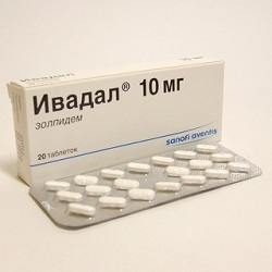 Ivadal tablets 10 mg