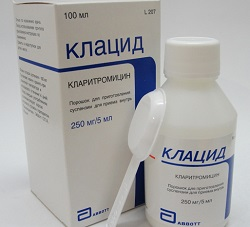 Antibiotic Klacid
