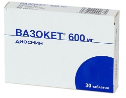 Vazoket 600 mg tablets