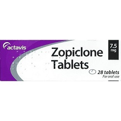 Zopiclone 7.5-SL Tablets